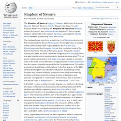 Kingdom of Navarre - Wikipedia