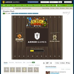 Kingdom Rush | Strategy Games | Play Free Games Online at Armor Games - StumbleUpon