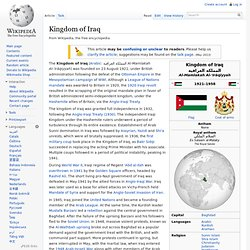 Kingdom of Iraq