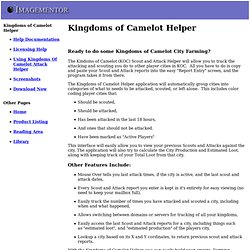 Kingdoms of Camelot Helper