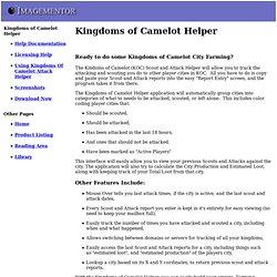 Kingdoms of Camelot Helper