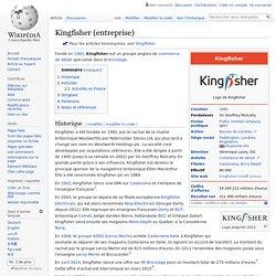 Kingfisher (entreprise)