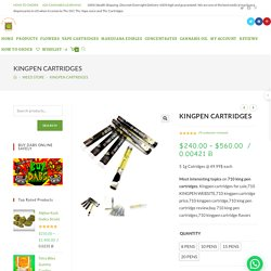 KINGPEN CARTRIDGES - KINGPEN CART FLAVORS - KINGPEN CARTS
