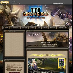 King of Kings 3 | PvP & Clan War MMORPG | Online Game | gamigo