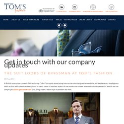 Tom's Fashion - Bangkok Tailor