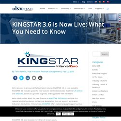 KINGSTAR 3.6 is Now Live: What You Need to Know