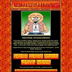 Kingthings homepage