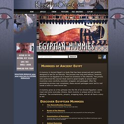 Ancient Egypt | Egyptian Mummies