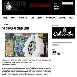 The Kinkajou Bottle Cutter | Direkt Concept