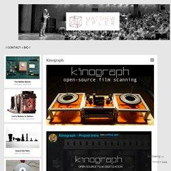 Kinograph - Matthew Epler Portfolio Site