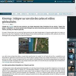 Kinomap : intégrer sur son site des cartes et vidéos géolocalisées