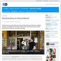 Kiosksterben in Deutschland