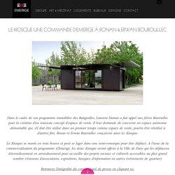Le Kiosque une commande d'Emerige à Ronan & Erwan Bouroullec