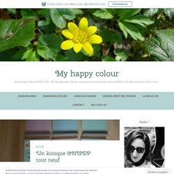 Un kiosque ONISEP tout neuf – Green is my happy colour