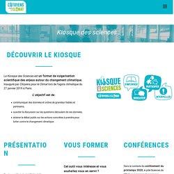 Le kiosque des sciences CPLC – Citoyens pour le climat