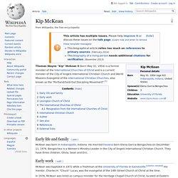 Kip McKean - Wikipedia