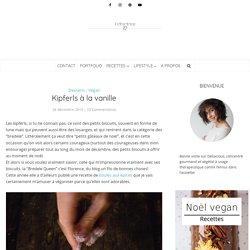 Kipferls vanille - recette de bredele vegan pour noël
