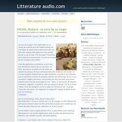 KIPLING, Rudyard – Le Livre de la jungle