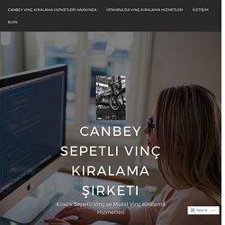 Vinç Kiralama (Fiyatları, Modelleri, İşi, Sepetli, Mobil) – Canbey Sepetli Vinç Kiralama Şirketi