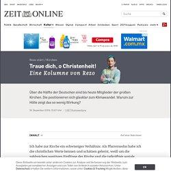 Kirchen: Traue dich, o Christenheit!