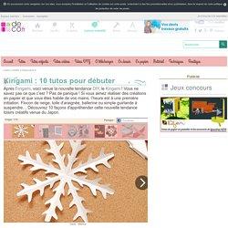 Kirigami : 10 tutos pour débuter - Loisirs créatifs