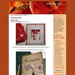 KIRIGAMI… · Histoire d'A……