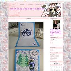 Kirigami - marlyenne-passion de cartes