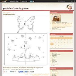 kirigami papillon - Le blog de valerie