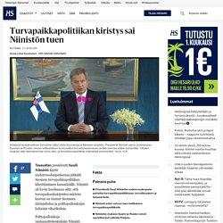 Turvapaikkapolitiikan kiristys sai Niinistön tuen - Sauli Niinistö