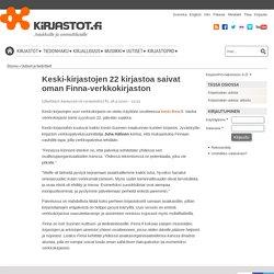 Keski-kirjastojen 22 kirjastoa saivat oman Finna-verkkokirjaston