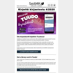 Kirjeitä kirjastosta 4/2020 - Ajankohtaista SeAMK Kirjastosta