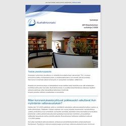AVI Kirjastotoimen uutiskirje 2/2020