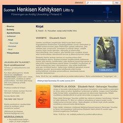 Kirjat - Suomen Henkisen Kehityksen Liitto ry.