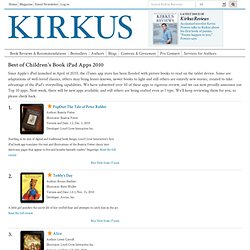 Kirkus Reviews - iPad Apps | Kirkus Book Reviews