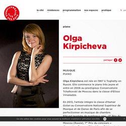 Les lauréats - Olga Kirpicheva - Cité internationale des arts