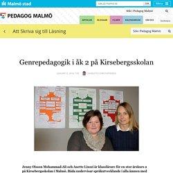 Genrepedagogik i åk 2 på Kirsebergsskolan