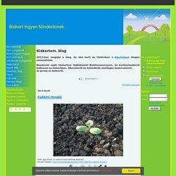 Kiskertem. blog - ingyenbiokert.qwqw.hu