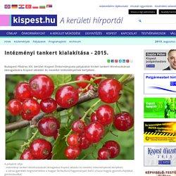 Kispest.hu - Intézményi tankert kialakítása - 2015.