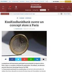 KissKissBankBank ouvre un concept store à Paris