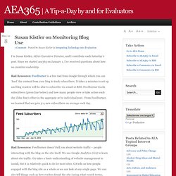 aea365 Monitoring Blogs