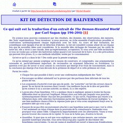 Kit de Détection de Balivernes