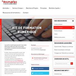 Kit de formation numérique - Animafac