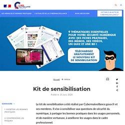Kit de sensibilisation - Assistance aux victimes de cybermalveillance
