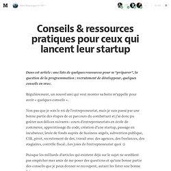 Kit de démarrage d'une startup