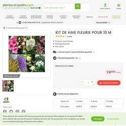Kit de Haie Fleurie pour 10 m