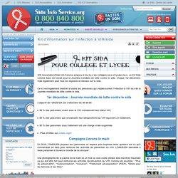 Kit d'information sur l'infection à VIH/sida
