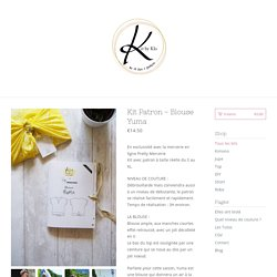Kit by Klo — Kit Patron - Blouse Yuma