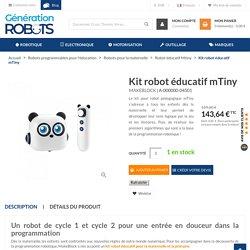 Kit robot éducatif mTiny