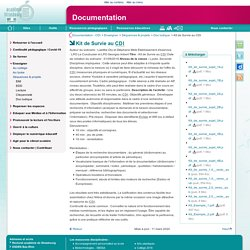 Kit de Survie au CDI - Documentation