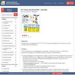Kit Total Solar Expert - Collège